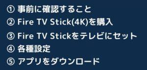 Fire TV Stickの使い方(購入~動画視聴まで)